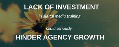 Digital Media Training Lagging Behind Revenue Growth in PR