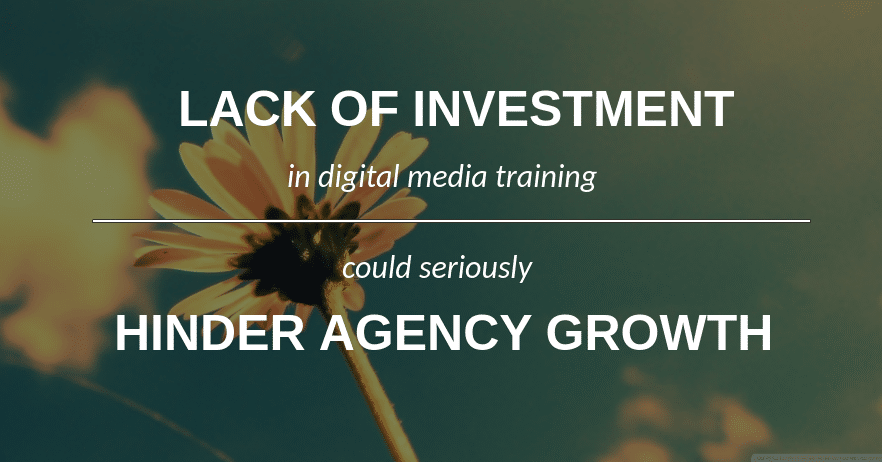 digital media training investment